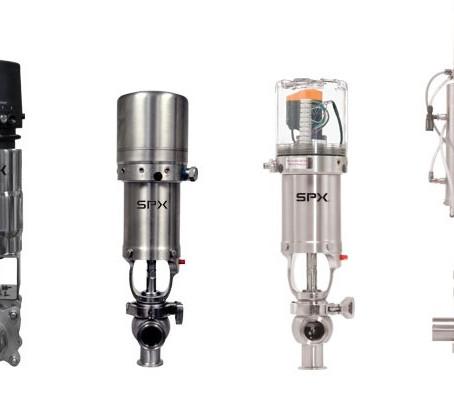 Opciones en Unidades de Control para válvulas Waukesha y APV