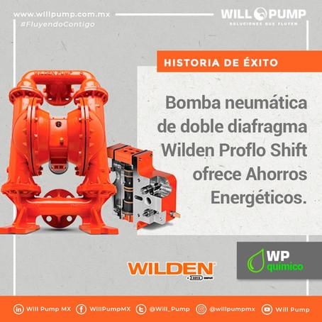 Historia de Éxito: Cambio a Bomba Neumática Wilden Proflo Shift ofrece Ahorros Energéticos