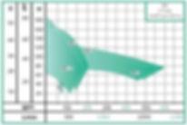Rango de operacion de las bombas centrifuga horizontal serie ME de WDM