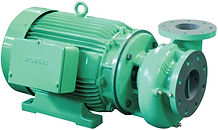 Bomba centrifuga WDM Series: QE, KE, GE, HE, ME (motobomba horizontal)