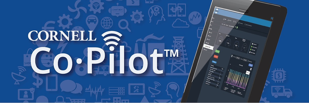 Sistema Co Pilot (IOT) de Cornell pump para monitoreo de bomba centrífuga