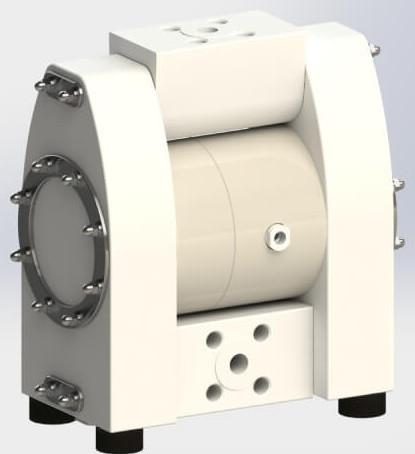 Bomba Almatec solución en filtro prensa