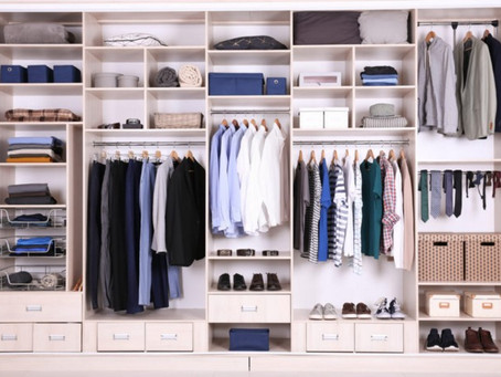 Simple steps to organize your closet