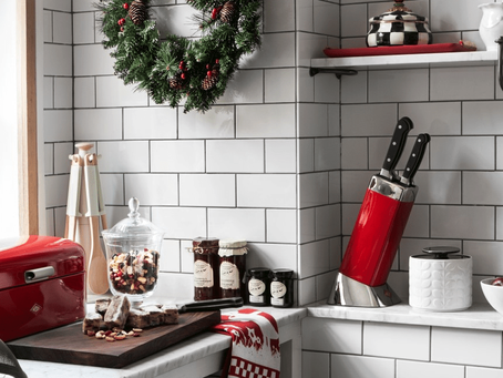 Decorating the heart of the home this festive season…