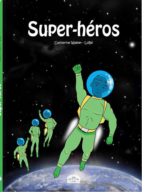 Livre enfant personnalisé -bd -Super héros- illustration originale