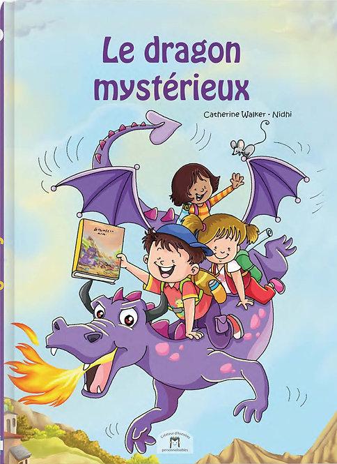 livre enfant personnalisé - dragon mystérieux - illustration originale