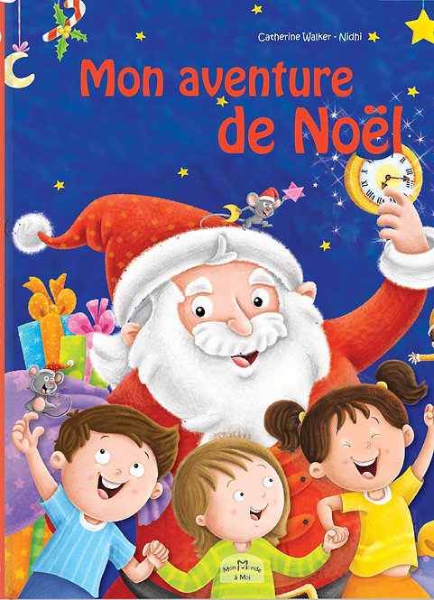 livre personnalisé enfant -aventure de Noël - illustration originale