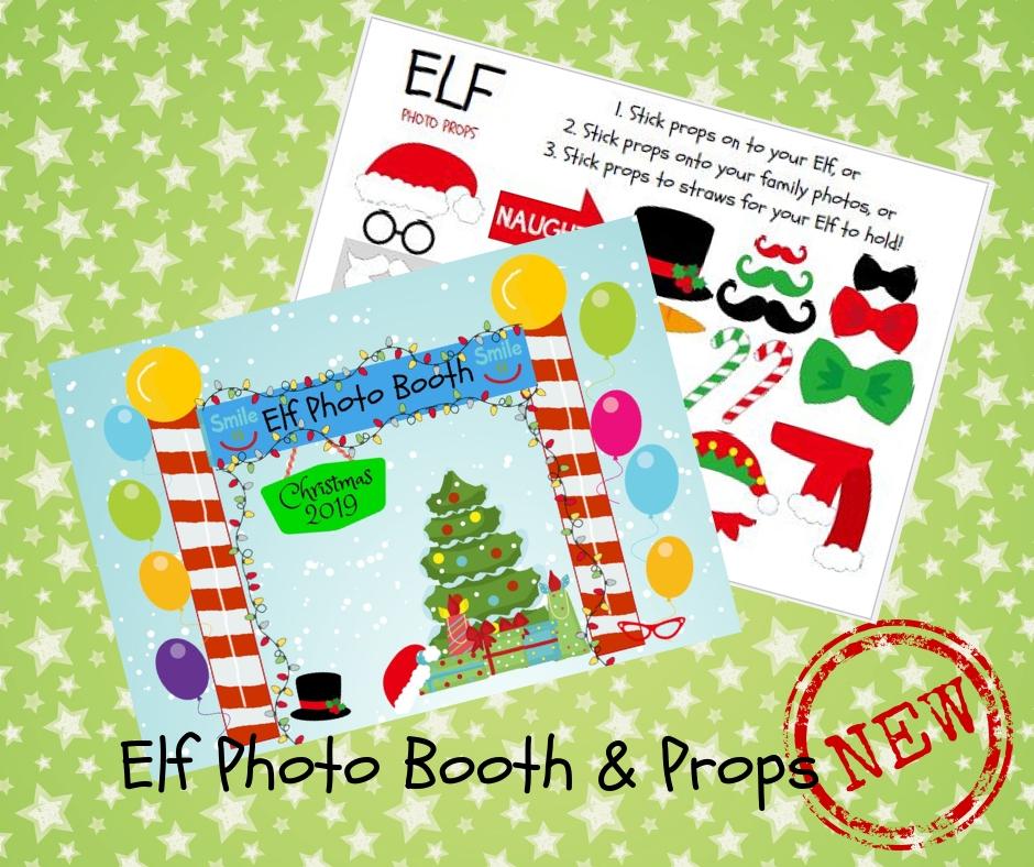 Merry Elfmas Elf Printables