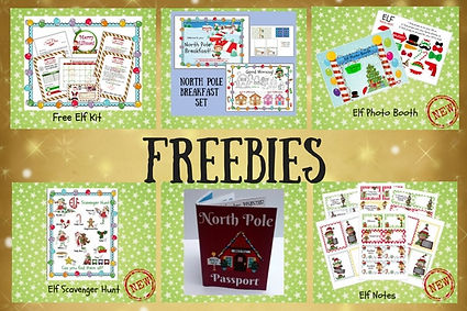 Elf Planning Freebies
