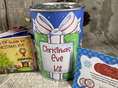 Christmas Eve Kit Elf Tin