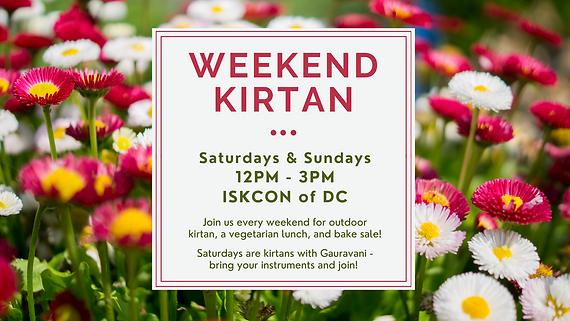 Copy of Saturdays & Sundays 12PM - 3PM I