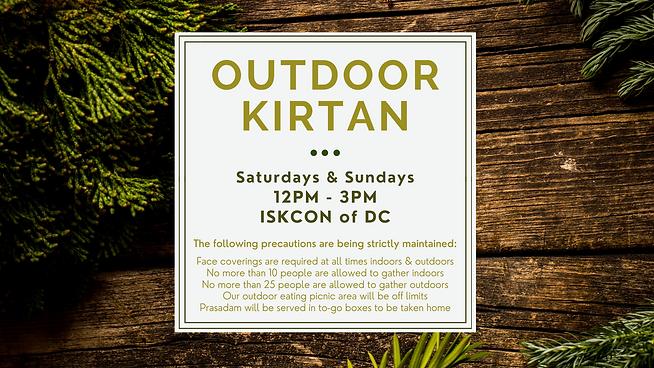 Saturdays & Sundays 12PM - 3PM ISKCON of