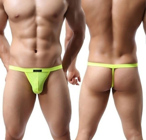 90fd57f0c43 SN Neon Yellow G-String