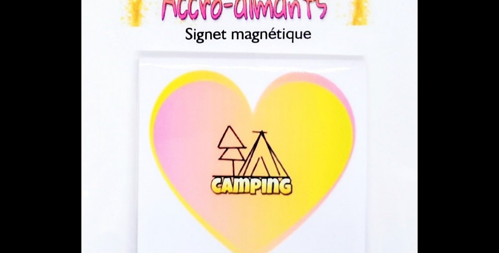 Signets magnétiques camping