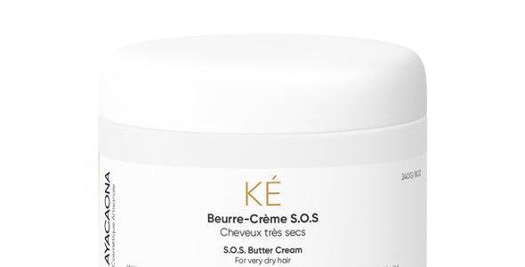 Beurre-crème coiffant naturel S.O.S hydratant-KÉ