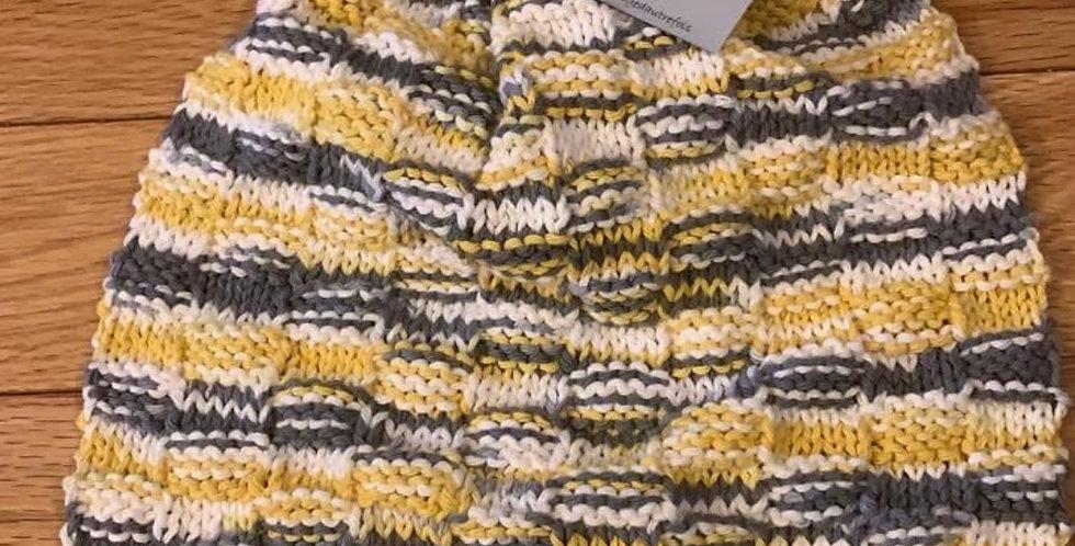 Serviette pour four tricotée