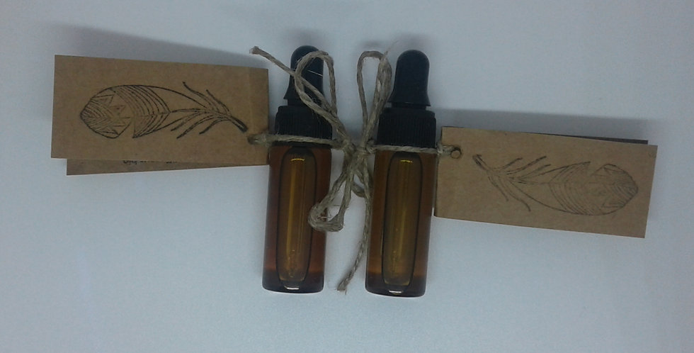 Flacon huile essentiel 5ml