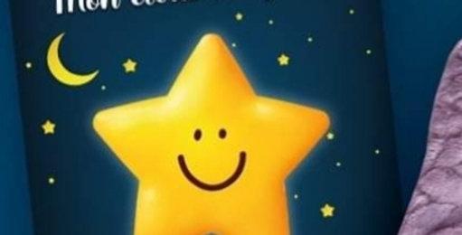 Étoile magique anti-stress réconfortante avec livre