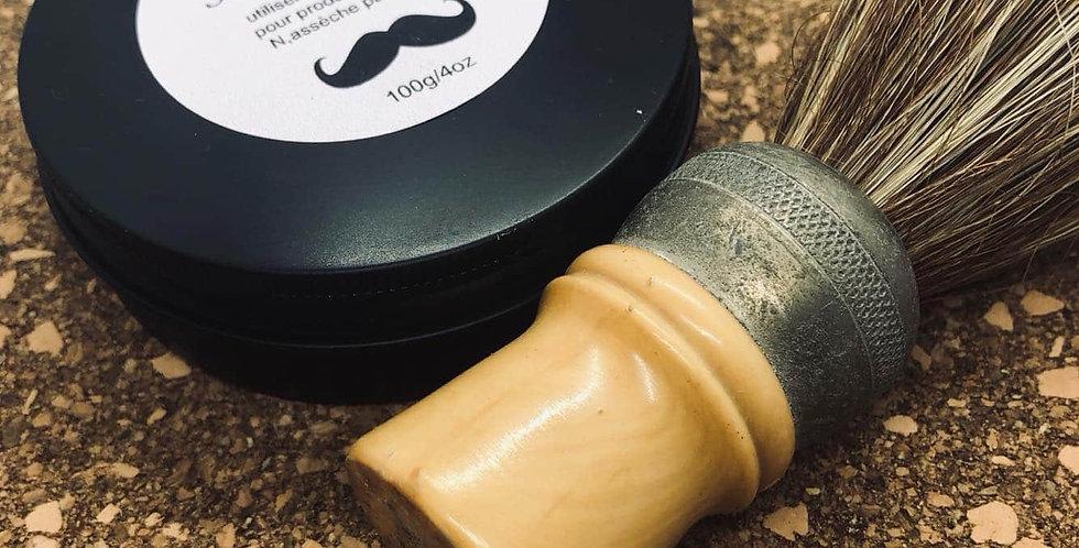 Savon à rasage pour homme