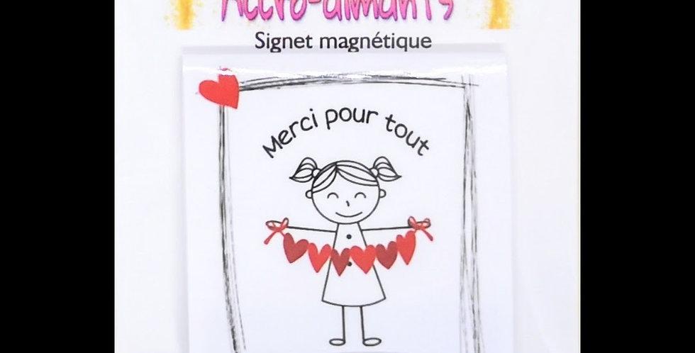 Signets magnétiques éducateurs