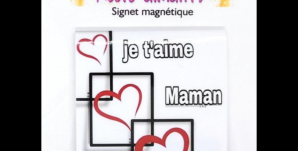 """Signets magnétiques """"fête des mères"""""""