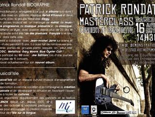 Masterclass Patrick Rondat