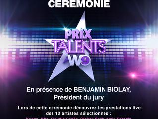 5ème édition du Prix Talents W9