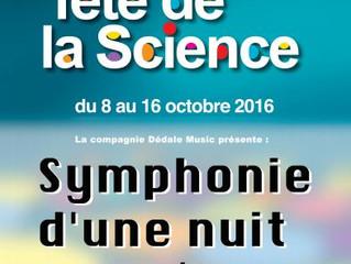 25ème Fête de la science et Symphonie d'une nuit sans étoile