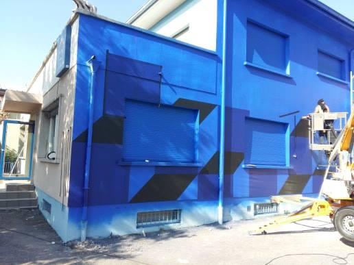La maison bleue Straxbourg