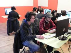 Salle informatique de MAO