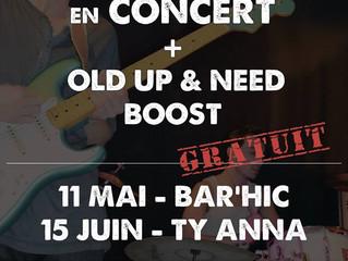 CFPM de Rennes en concert le 11 mai auBar Hicet le 15 juin auTy Anna Tavarn