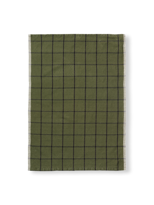 Ferm living - Tea towel Hale green