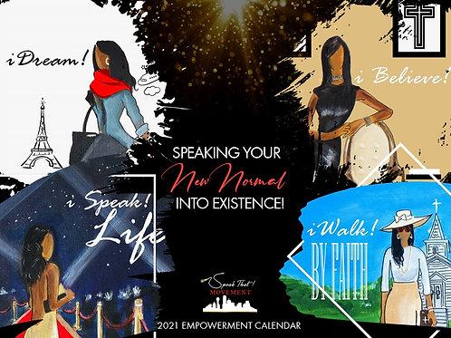 Speak That! Movement 2021 Calendar
