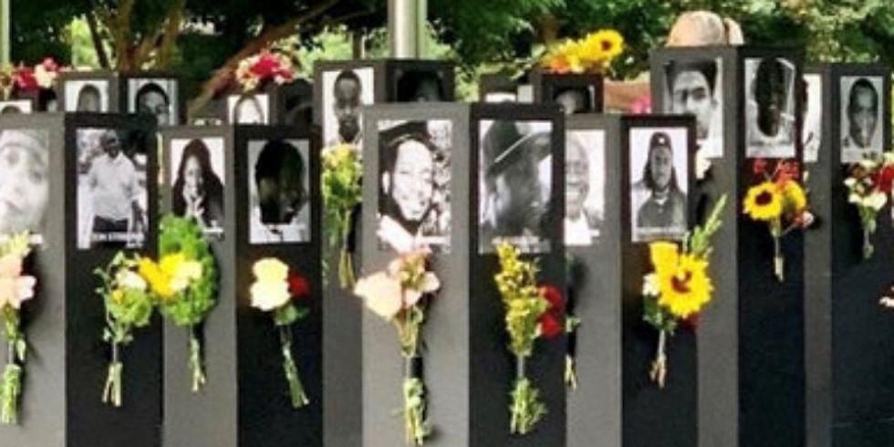 NEW DATE: 9/16: Speak That! Movement Social: Say Their Names Memorial