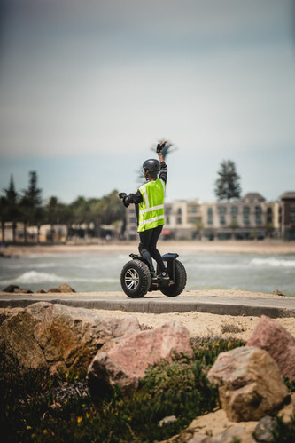 Segway tour down Mole