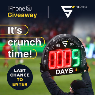 Crunch Time - Last chance to enter!