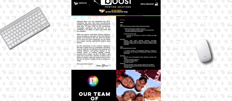 Boost Printing Solutions
