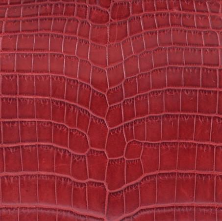 Red Matt Crocodile