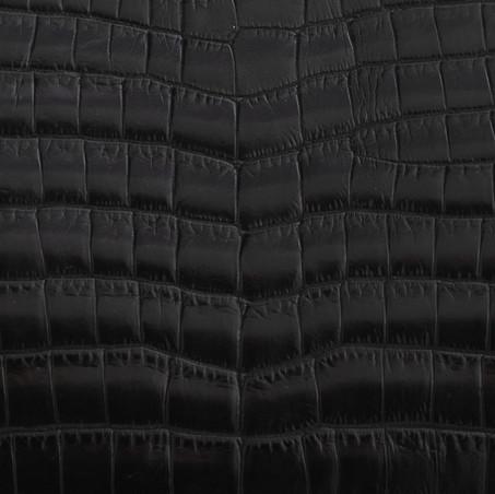 Black Croc. Matt