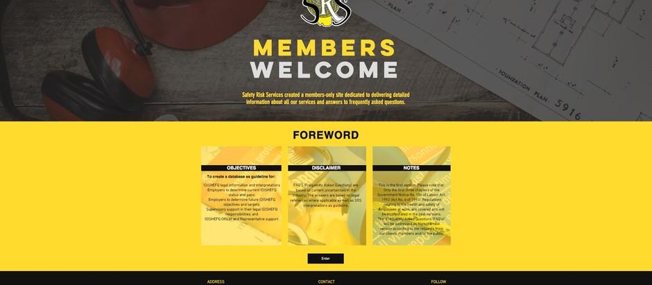 SRS Member Site