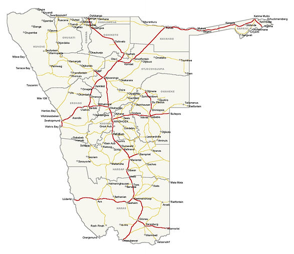 detailed_simplified_roads_map_of_namibia