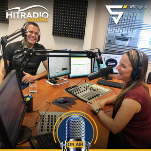 We were guests at Hit Radio Namibi
