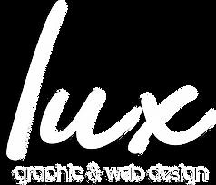 Lux Graphic & Web Design wording logo