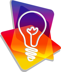 Lux Graphic & Web Design emblem logo