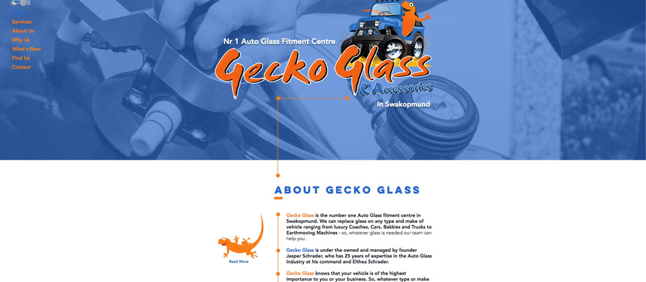 Gecko Glass & Accessories