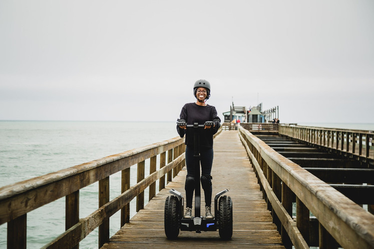 Segway tour Jetty