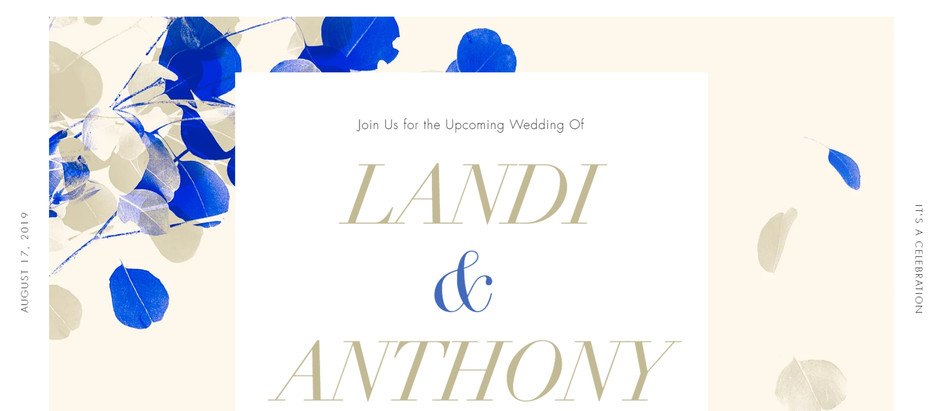 Anthony & Landi Wedding