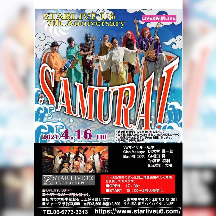 SAMURAI LIVE Star Live U6 ~Anniversary 7th~