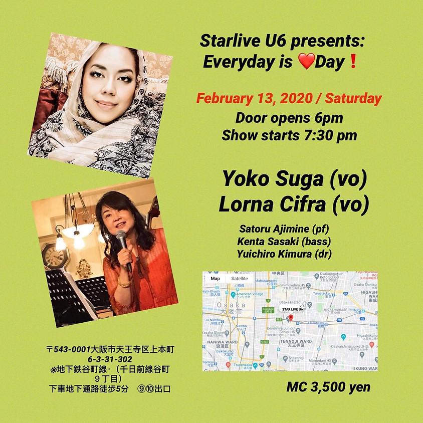 「Lorna Cifra&Yoko Suga JazzLive」