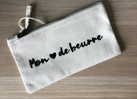 """Trousse """"Mon cœur de beurre"""""""